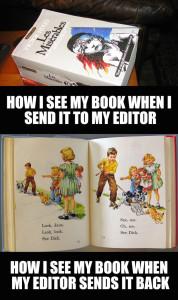 Edit my book